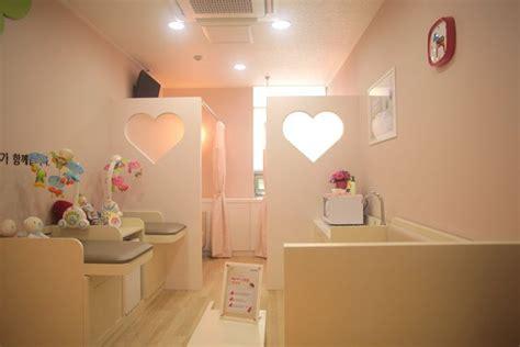 changing room japan japanese nursing room changing room bottle and bottle cleaning room with curtains