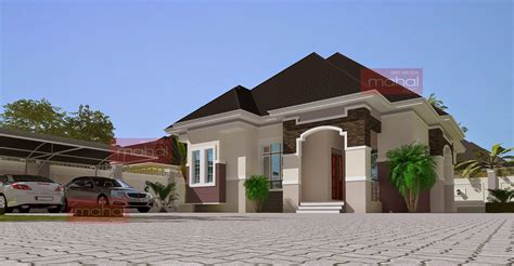 Floor Plans For 3 Bedroom Flats Contemporary Nigerian Residential Architecture