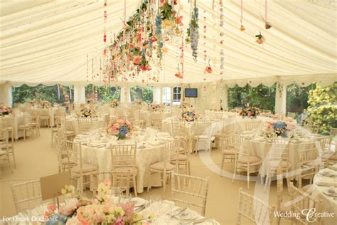 venue dressing at wedding marquee wedding creative