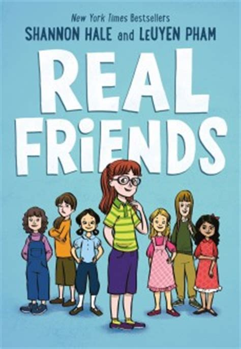 the friendship book books real friends by shannon hale slj review school library