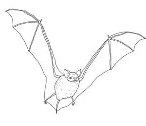 Vire Bat Coloring Page Free 28 Images Bat Picture To Vire Coloring Pages