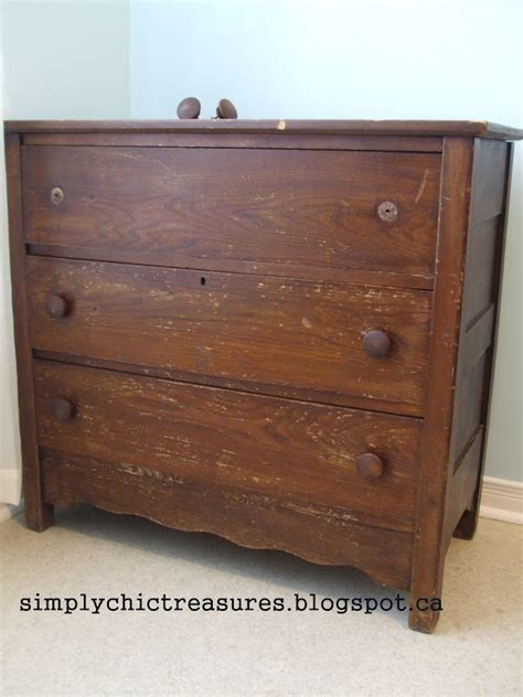 Refinishing Dresser by Simply Chic Treasures Refinished Dresser
