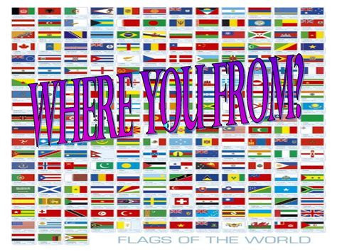 All Flags Of The World Printable | 6 best images of printable flags of the world printable