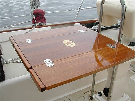 boat deck table teak and plastic cockpit tables for sailboats tag line