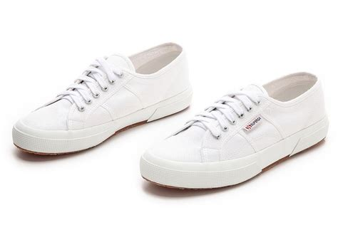 white sneakers 13 white canvas sneakers to wear the hell out of this