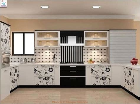 Rolling Kitchen Island by Woodz Modular Kitchen Hyderabad Kitchen Designs And