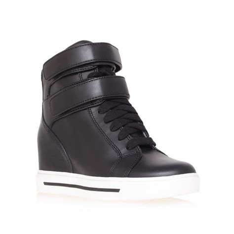 marc sneaker marc by marc 40mm wedge sneaker in black lyst