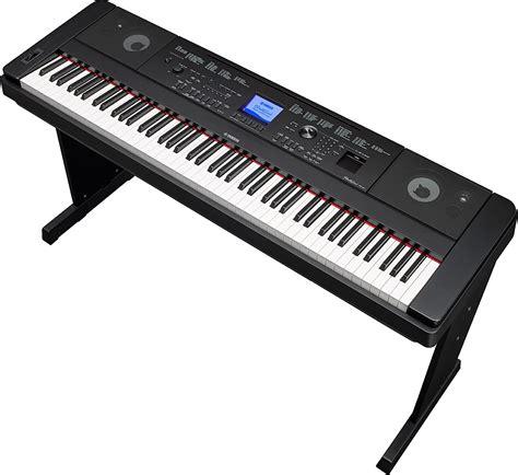 Keyboard Digital Yamaha Dgx660 Portable Grand Digital Piano Black Andy