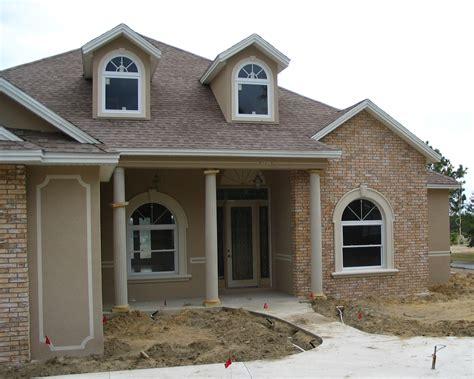 brick houses faux brick house front ocala faux finish