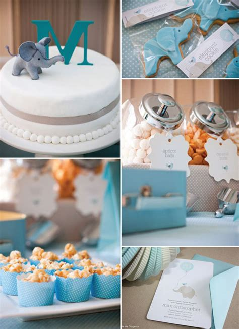 chic elephant baby shower ideas and invitations for 2014