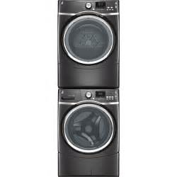 exceptional Washer Dryer Stainless Steel #1: GE-1705-series-stacked-washer-dryer-remodelista.jpg