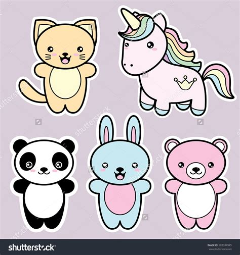 imagenes de animales kawaii hermosas im 225 genes de animalitos kawaii para descargar
