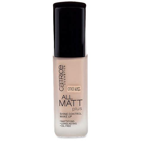 catrice matt make up catrice cosmetics all matt plus shine make up