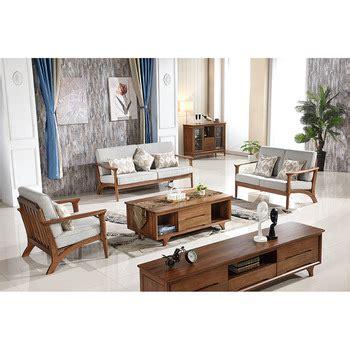 Solid Wood Living Room Furniture Sets European Modern Simple Style Living Room Furniture Free Standing Solid Wood Storage
