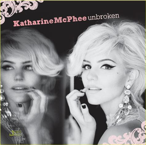 Listen To Katharine Mcphees Debut Cd by Katharine Mcphee Unbroken Album Cover Reavealed Photo