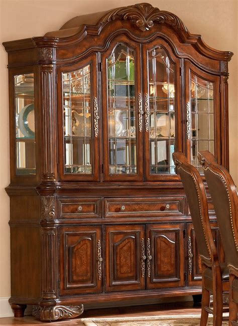 dining furniture hutch room ornament furniture traditional brown dining room hutch for your