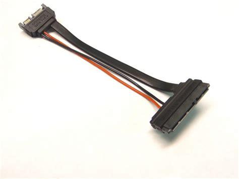 Sata Cable Standard slimline 13 pin sata to 22 pin sata cable adapter iii