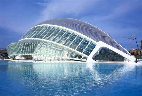the city of arts and sciences by santiago calatrava and felix candela santiago calatrava hemispheric valencia spain wroc awski