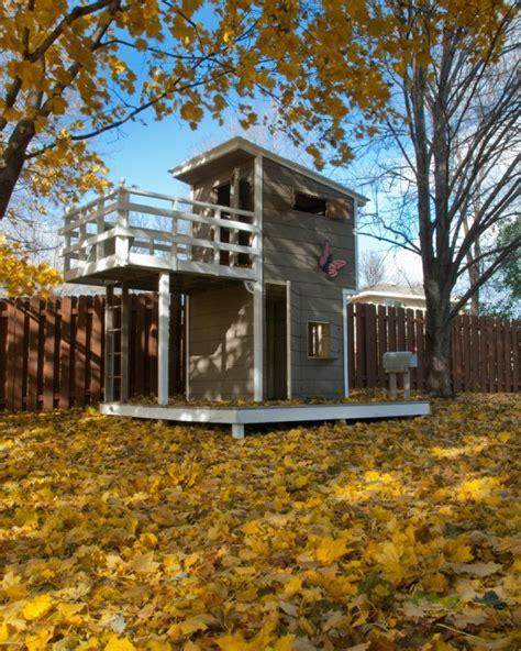 building  outdoor playhouse thriftyfun