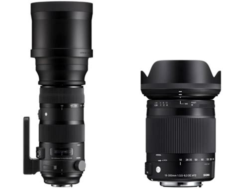 new full frame and aps c glass from sigma dxomark