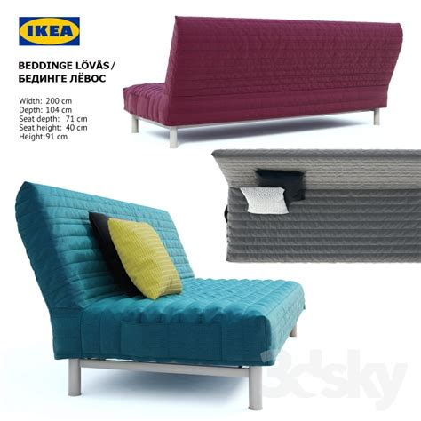 Ikea Beddinge Lovas Sofa Bed 3d Models Sofa Ikea Beddinge Lovas Sofa Bed Bedinge
