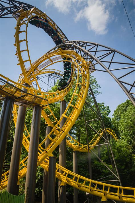Loch Ness Busch Gardens by Arrow Dynamics And Facts Coasterforce