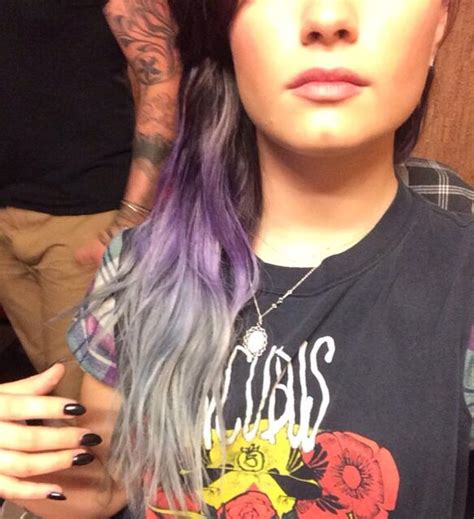 demi lovato i didn t mean to break your heart lyrics daydream stars demi lovato dyed her hair purple and