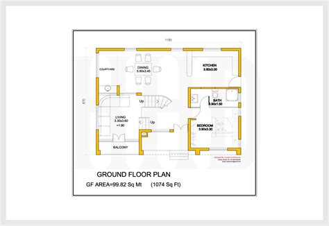 ground floor 3 bedroom plans 2172 kerala house with 3d view and plan