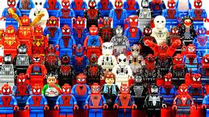 Epic Lego Spider Man 2016 Marvel Super Heroes Minifigure Complete Collection