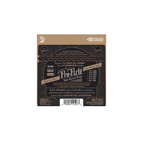 D Addario Pro Arte Strings - d addario ej46 pro arte classical tension