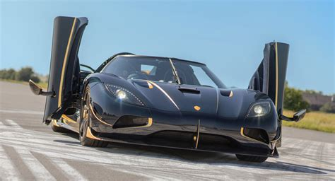 gold koenigsegg koenigsegg reveals gold trimmed blue carbon agera rs naraya
