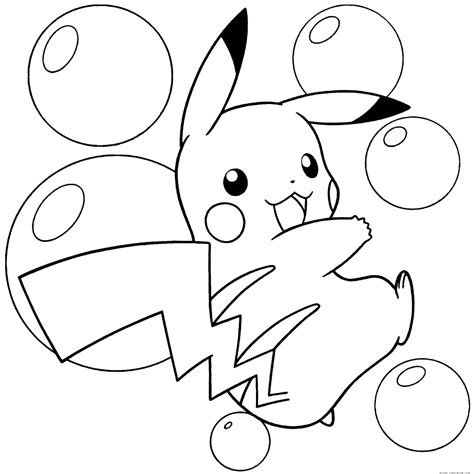 pokemon coloring pages pichu pokemon coloring pages print color craft