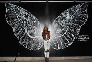 Wall Murals San Diego las vegas takes flight kelsey montague art