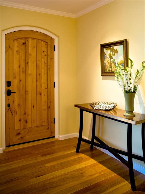 yellow foyer photos hgtv