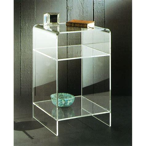 comodini plexiglass tavolini plexiglass