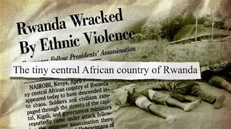 the rwandan genocide united to end genocide