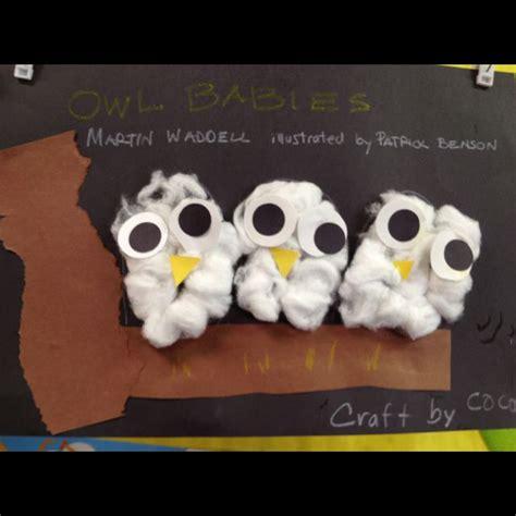 Paint Snowy Owls Tippytoe Crafts Preschool Books - craft snow owlsmade by cotton balls craft book