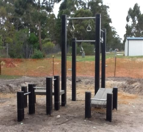 Backyard Fitness Equipment by Roocycle Materials Used In Creation Of Outdoor Fitness Equipment