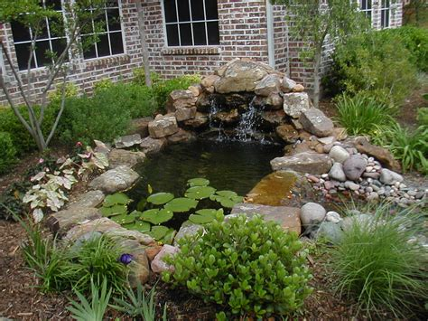 Backyard Pond With Waterfall by Welcome To Wayray The Ultimate Outdoor Experience Photo