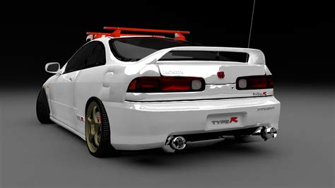 Integra Search Honda Integra Type R Rear By Jessegroves On Deviantart