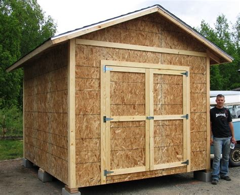 Diy 10x12 Shed by 10 X 12 Shed Building A 6 215 4 Shed Is No Distinct Than Building A Tiny Home Shed Plans Kits