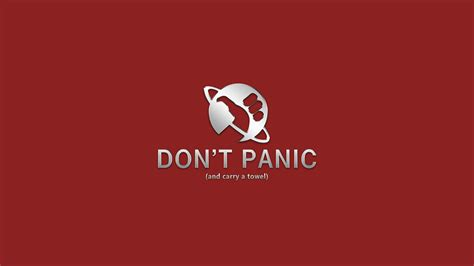 wallpaper design guide the hitchhiker s guide to the galaxy 4k ultra hd wallpaper
