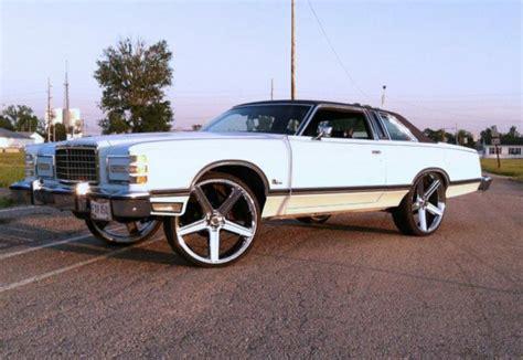 oldschool ford    irocs big rims custom wheels