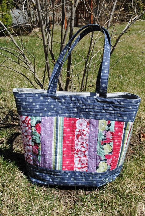 Easy Patchwork Bag Patterns - patchwork tote bag pattern large quilted tote elizabeth