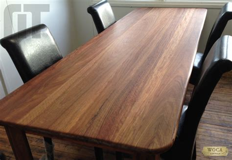 SPOTTED GUM BENCHTOP   Market Timbers   Timber and