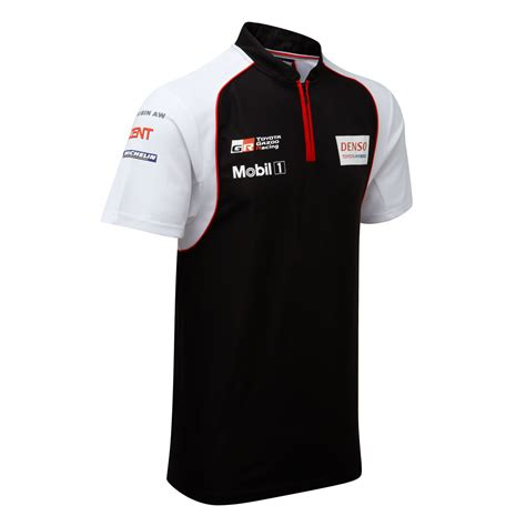 racing shirt toyota motorsport mens polo shirt 2016 gazoo racing le