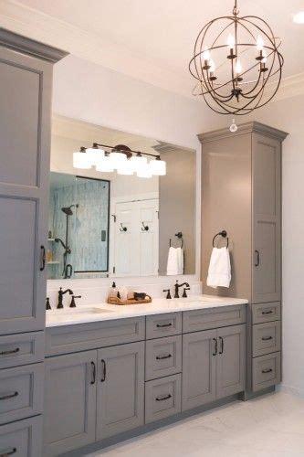 grey master vanity   towers undermount sinks