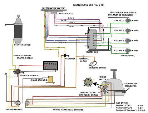 mariner 75 hp wiring diagram mercury wiring diagram