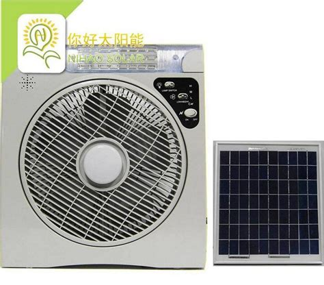 ac powered computer fan china solar fan with led l ac dc rechargeable portable