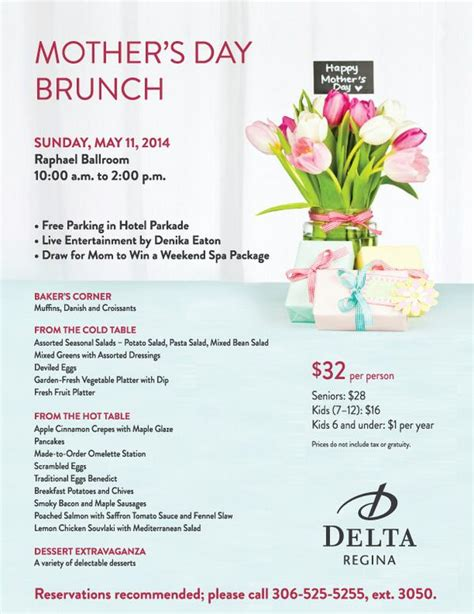 Best Mothers Day Brunch Delta On Quot How Do You Top Last Years